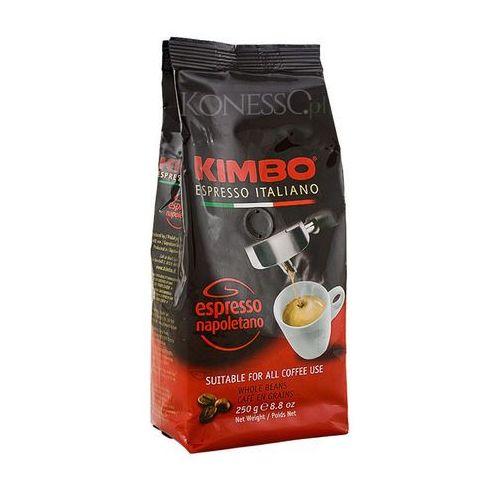 espresso napoletano 0,25 kg ziarnista marki Kimbo