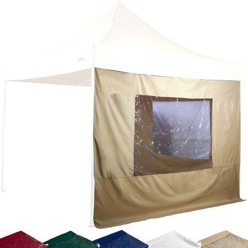 Ścianki boczne wodoodporne STILISTA® do pawilonu ogrodowego 2 sztuki 3x3 m - bordowy