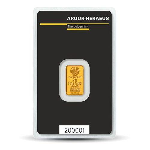 2 g Sztabka złota - 15dni