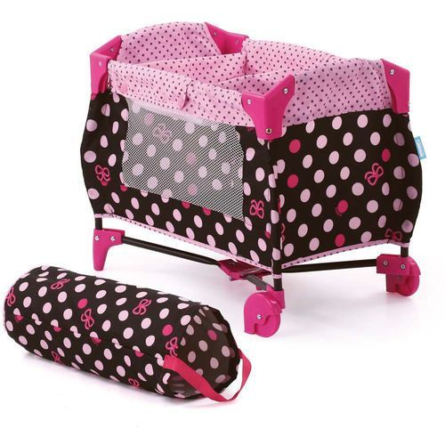 Łóżeczko turystyczne dla lalek Pink Lady, Hauck z Mall.pl