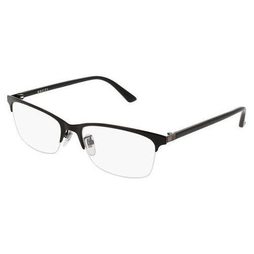 Okulary korekcyjne gg0132oj 001 marki Gucci