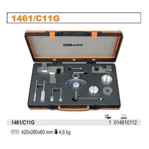 Zestaw narzędzi do blokowania i ustawiania układu rozrządu w silnikach dci renault, model 1461/c11g od producenta Beta