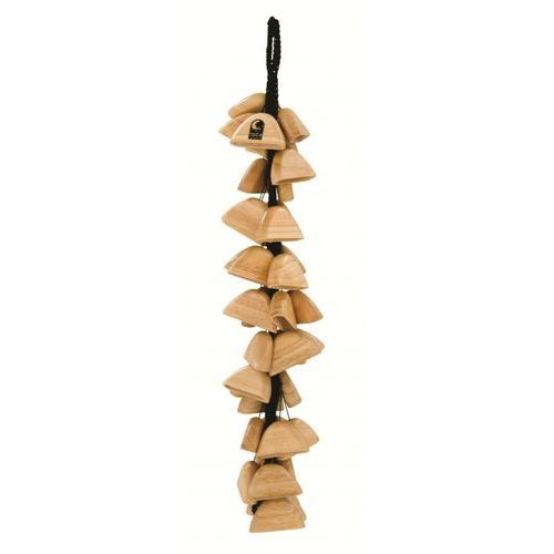 (to804800) sound effects wooden pod rattle on string marki Toca
