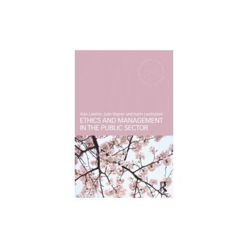 Ethics and Management in the Public Sector, Lawton, Alan