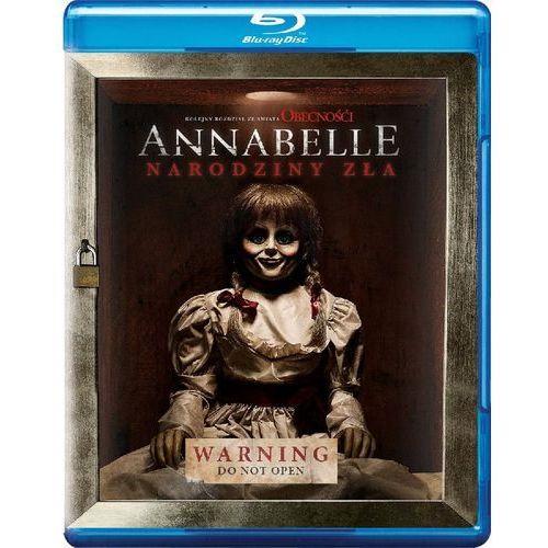 Annabelle: Narodziny zła (Blu-ray) - David F. Sandberg. DARMOWA DOSTAWA DO KIOSKU RUCHU OD 24,99ZŁ