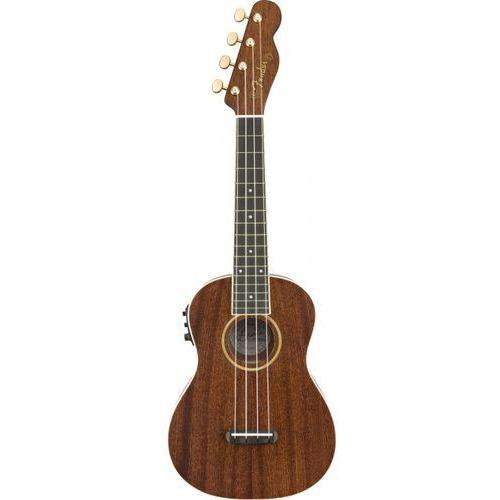Fender Grace Vanderwaal Signature Uke Walnut Fingerboard Natural ukulele koncertowe