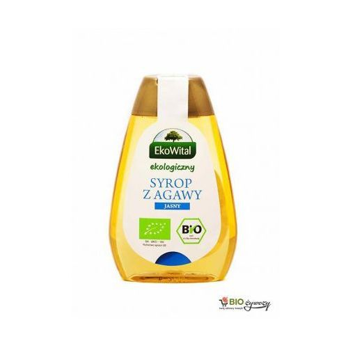Syrop z agawy jasny BIO 250 ml EkoWital