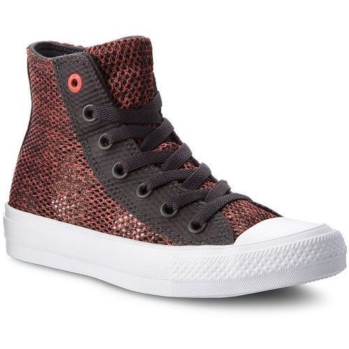 Trampki - ctas ii hi 155729c almost black/ultra red/white marki Converse