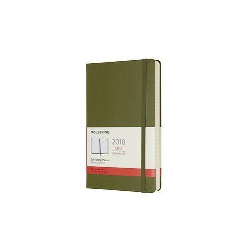 Kalendarz Moleskine 2019 Dzienny, L, jasny zielony, 1716502
