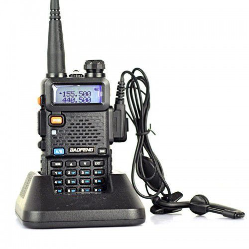 Radiotelefon BAOFENG UV-5R SKANER STRAŻ POLICJA PKP, C820-304DF