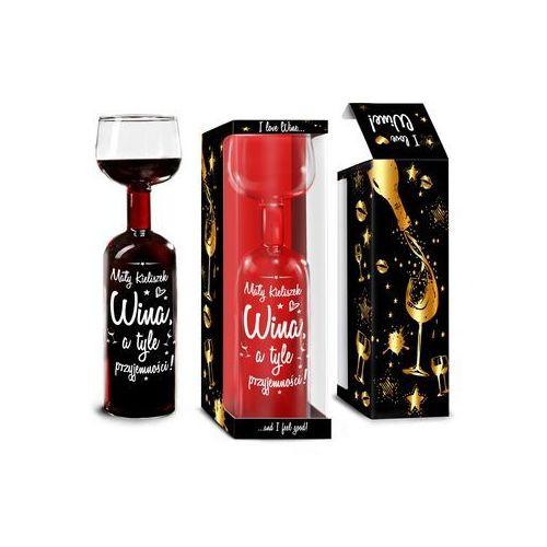 Kieliszek butelka - Mały kieliszek wina...