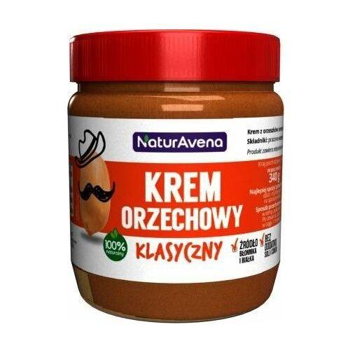 Naturavena Krem orzechowy klasyczny 100% bez soli/cukru 340g - (5902367400385)