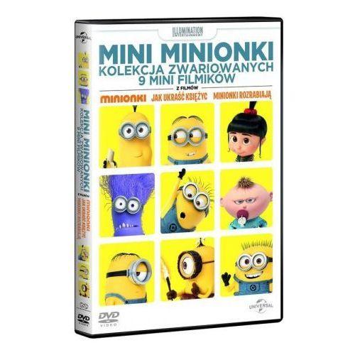Mini Minionki Kolekcja zwariowanych 9 mini filmików DVD (5902115602160)