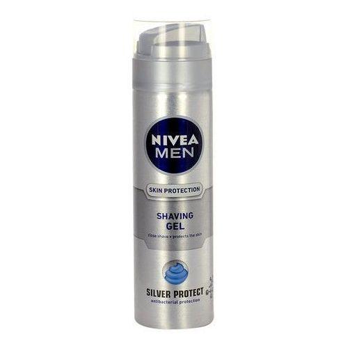 Nivea men silver protect żel do golenia (shaving gel) 200 ml (4005808539956)