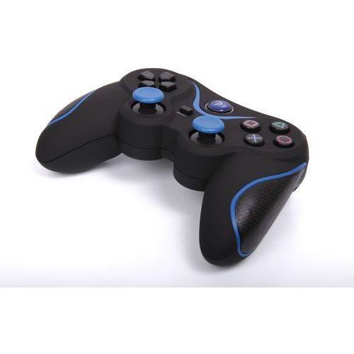 Kontroler 1BANDIT A8 Czarno-niebieski (PS3/PC)