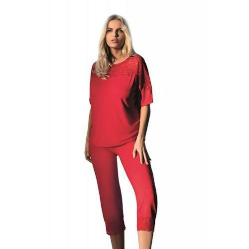 Dkaren Ara czerwona Piżama damska (5903251380325)