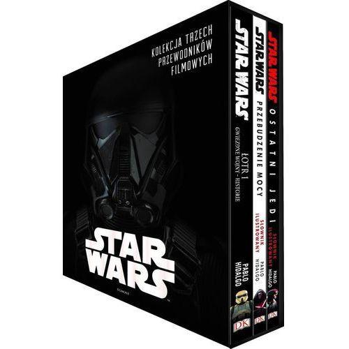 Star Wars Kolekcja trzech przewodników filmowych- bezpłatny odbiór zamówień w Krakowie (płatność gotówką lub kartą). (9788328139053)
