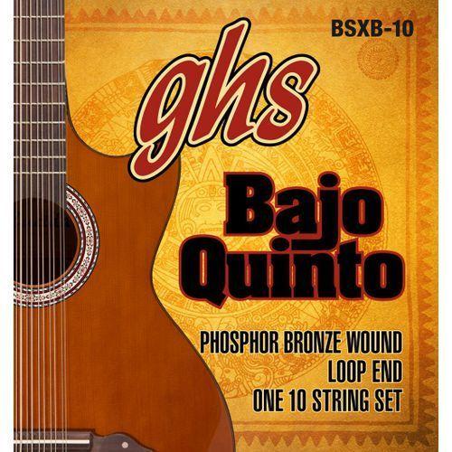 bajo quinto, struny do gitary akustycznej, loop end 10 string,.024-.078 marki Ghs