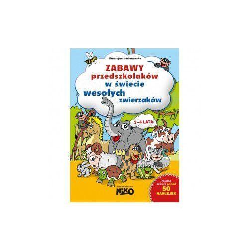 Zabawy przedszkolaków w świecie wesołych zwierzaków - dla dzieci w wieku 3-4 lat