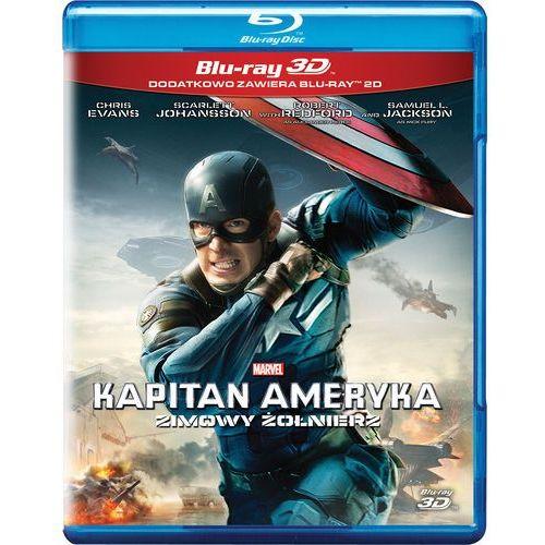 Kapitan Ameryka: Zimowy żołnierz 3D (Blu-Ray) - Anthony Russo, Joe Russo DARMOWA DOSTAWA KIOSK RUCHU (7321917502368)