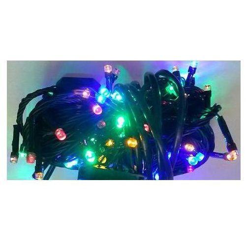 Lampki choinkowe LED 100 multikolor i sterownik z kategorii ozdoby świąteczne