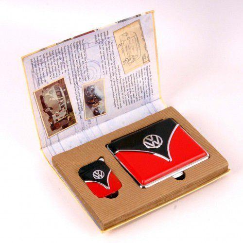 Polyflame Zestaw prezentowy vw zapalniczka i papierośnica 6.34