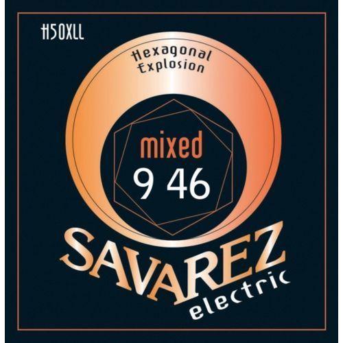 Savarez Mixed (676517) Struny do gitary elektrycznej Hexagonal Explosion Nickel Mixed.009-.046