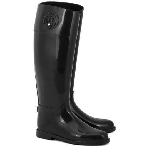 Stivali Pioggia - Czarne Gumowe Kalosze Damskie - Z5590 12 (kalosz damski) od MIVO Shoes Shop On-line