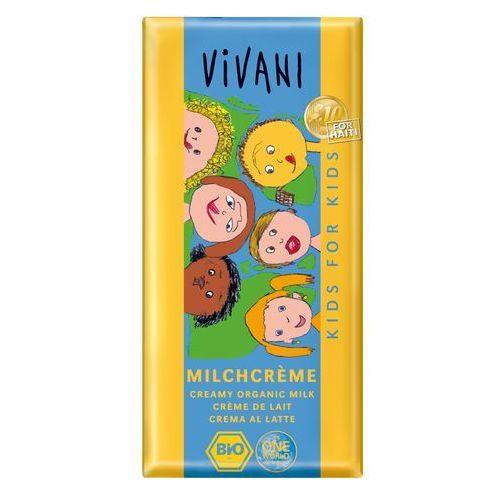 Vivani : czekolada mleczna dla dzieci bio - 100 g