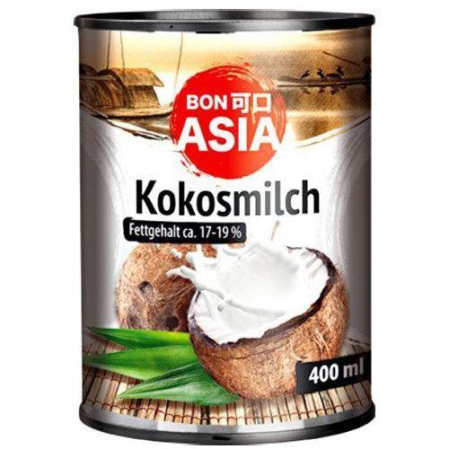 Mleko kokosowe (82% wyciągu z kokosa) w puszce 400ml - BonAsia (4316734086965)