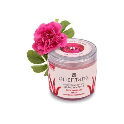 Orientana - bogate masło do ciała róża japońska i liczi 100 g