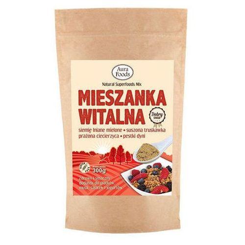 Aura herbals Mieszanka witalna truskawka 300g