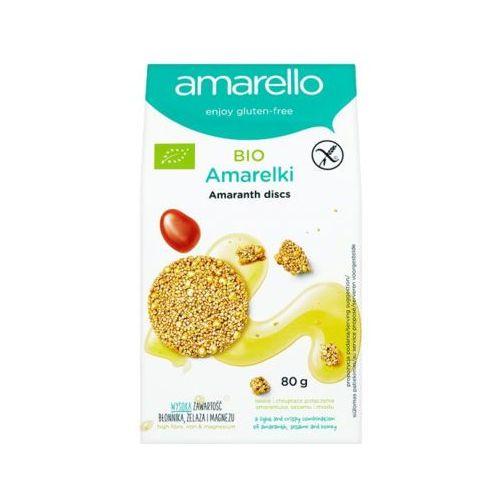 AMARELLO 80g Amarelki słodkie talarki amarantusowe Bio