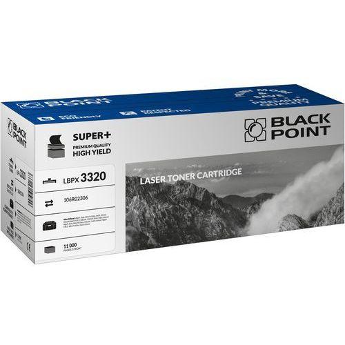 Toner zamienny Black Point LBPX3320 dla Xerox 106R02306 czarny na 11000 stron - KURIER UPS 14PLN, Paczkomaty, Poczta, LBPX3320