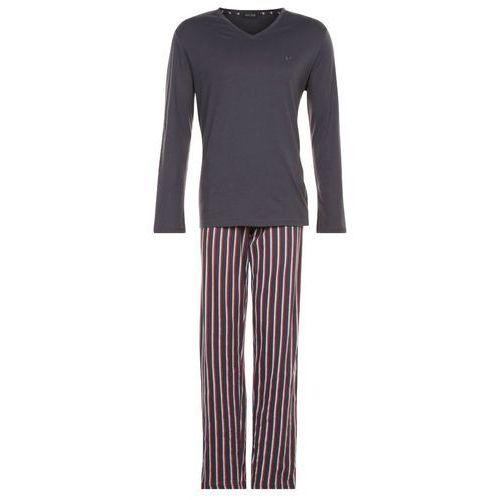 HOM GRAND HOTEL Piżama grey, materiał bawełna, szary