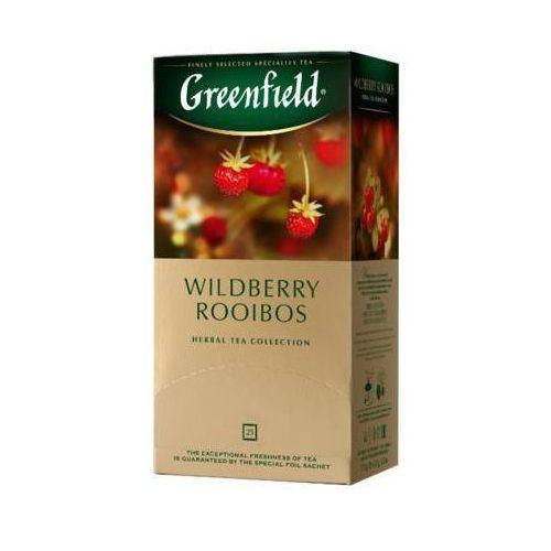 Greenfield 25x1,5g wildberry rooibos herbata owocowo-ziołowa ekspresowa