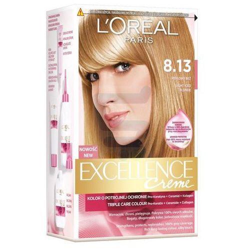 Excellence Creme farba do włosów 8.13 Perłowy Beż - L'Oreal Paris (3600521374504)