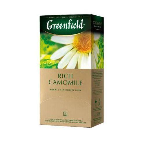 25x1,5g rich camomile gourmet herbata owocowo-ziołowa ekspresowa marki Greenfield