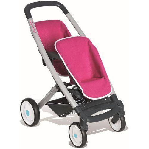 Sportowy wózek dla lalek bliźniaków Quinny, marki Smoby do zakupu w Mall.pl