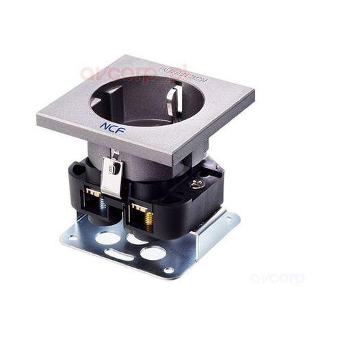 Furutech FT-SDS (R) NCF - gniazdo montażowe schuko (EU) - rodowana (4582237539912)