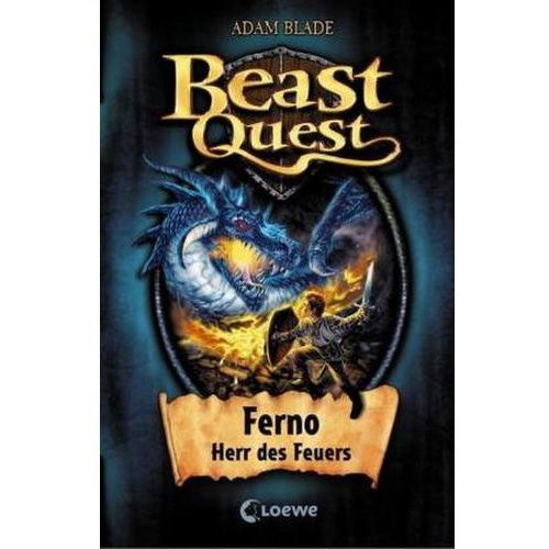 Beast Quest - Ferno, Herr des Feuers (9783785561553)
