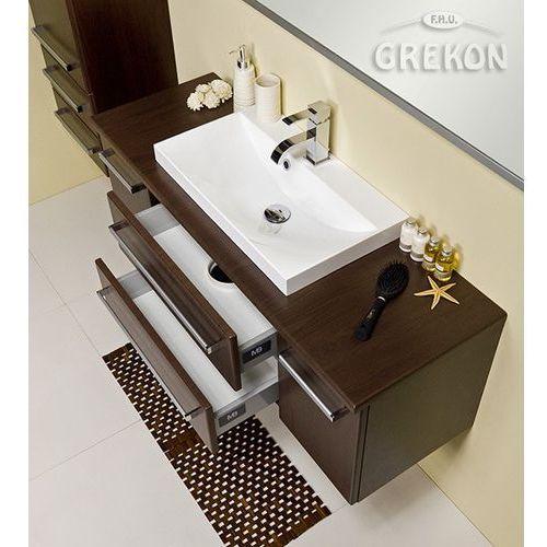 Szafka łazienkowa z umywalką 120/39c/liz fokus wenge mat marki Gante
