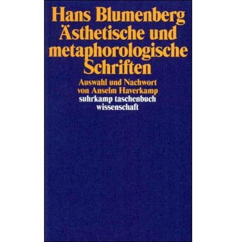 Ästhetische und metaphorologische Schriften (9783518291139)