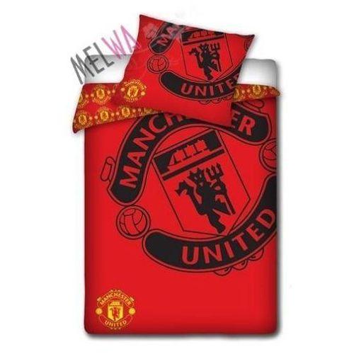 Komplet pościel licencyjna kluby sportowe Manchester United 160x200 cm, Dystrybutor Carbotex