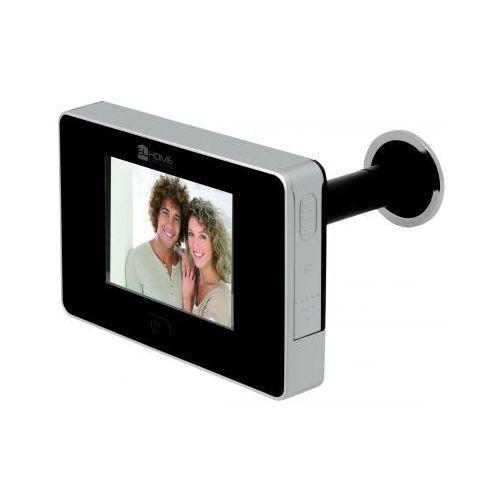 """Elhome Kamera ukryta w wizjerze (judasz) + ekran lcd 2,7""""."""