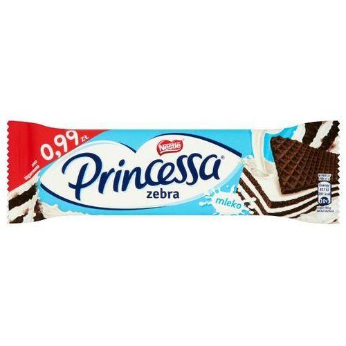Nestle Wafel princessa zebra kakaowy przekładany kremem mlecznym 37 g (7613034805874)