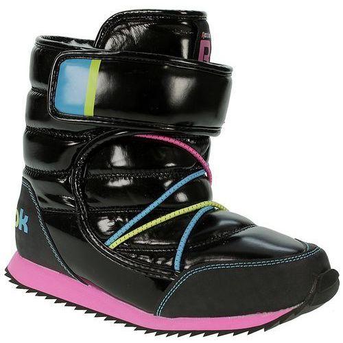 buty Reebok Frostbound II - Black/Electro Pink/High Vis Green/Flight