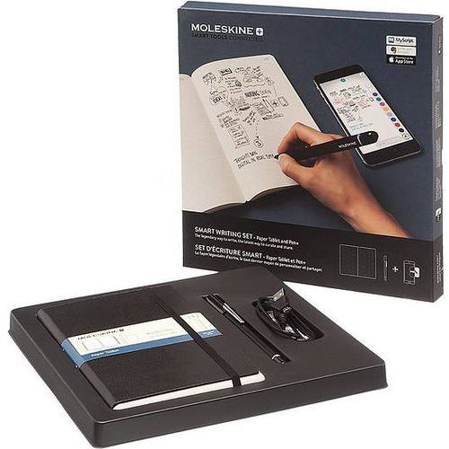 Zestaw smart writing z notesem paper tablet marki Moleskine