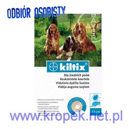 BAYER Kiltix - obroża odstraszająca pchły i kleszcze u psów średnich ze sklepu KROPEK