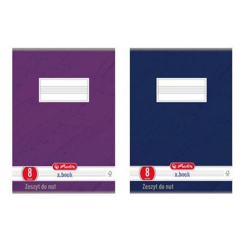 Pionowy zeszyt do nut, A4, 8 kartek, HERLITZ - A4 (29,7cm x 21cm)